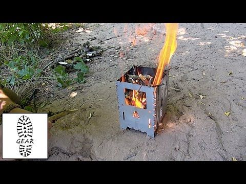 """Outdoor-Kocher """"Bushbox XL"""" von Bushcraft-Essentials"""