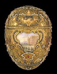 """""""l' Uovo Fabergè : le Uova Fabergé furono una realizzazione di gioielleria ideata presso la Corte dello Zar di tutte le Russie ad opera di Peter Carl Fabergé, della omonima Compagnia."""""""