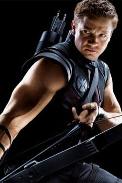 "Someone on Pinterest tagged this photo with, ""The Avengers -THOR!!""... Biggest.fail.ever. His name is HAWK EYE, genius!"