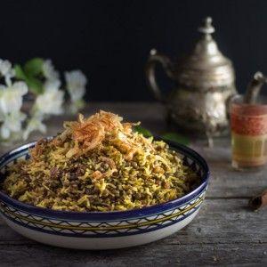 Le mejadra un plat de lentilles et de riz