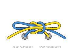 Оригинальный способ завязывать шнурки