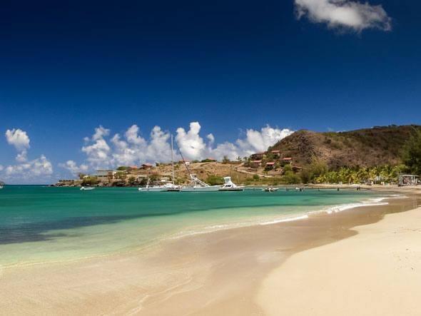 Oualie Beach - #Nevis, West Indies.