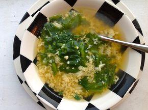Post image for Roman Stracciatella Soup