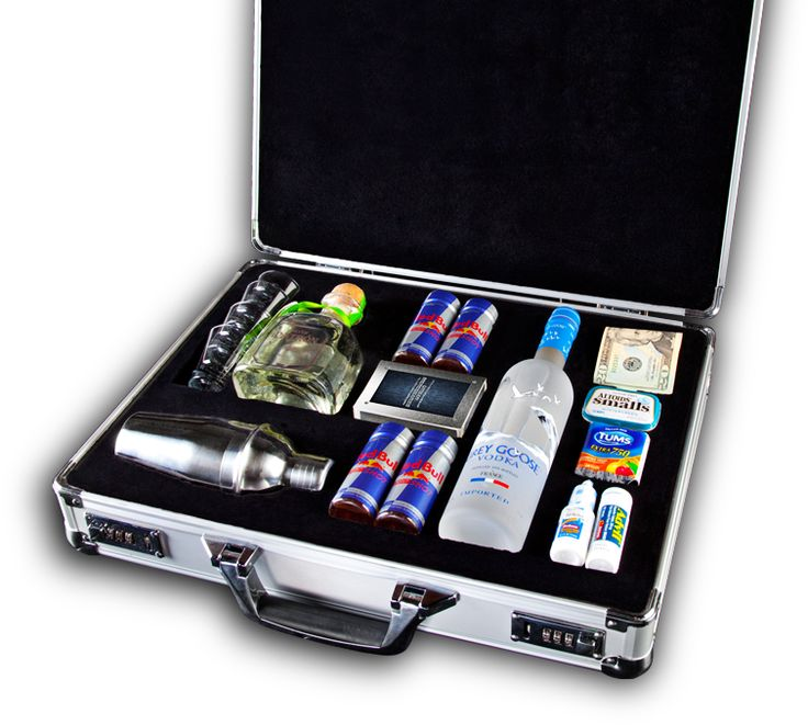 Cool, but I'm pretty sure I can make one of these for less than the cost of this one.Like A Boss, 21St Birthday Gift, Survival Kits, Gift Ideas, Parties, Briefca, Guys Gift, Emergency Kits, Suitcas