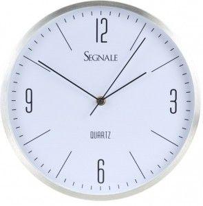 Zegar ścienny Erre - srebrny
