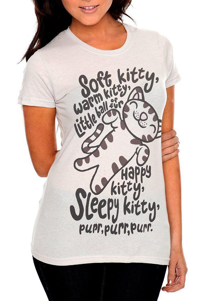 Big Bang Theory: Soft Kitty, Birthday, Cat, Bigbangtheory, T Shirt, Clothes, Bangs, The Big Bang Theory