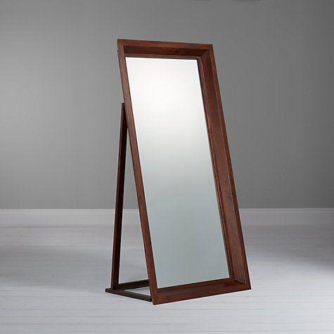 Buy John Lewis Maharani Freestanding Mirror, 92 x 185cm Online at johnlewis.com
