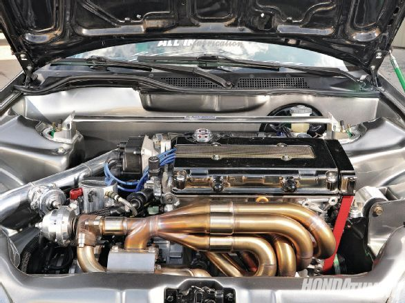 Built Over A Decade Steve Thomsen S Highly Customized 1994 Honda Civic Ex Is Powered By A Turbocharged B16a2 Honda Civic Ex Honda Civic Honda Civic Hatchback