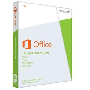 Software Suites : Microsoft Office 2013 Home & Student 32/64-bit - $139.99 The first thing you'll see when you open Microsoft Office is a clean, new look. But the features you know and use are still there-along with some new ones that are huge time savers. The new Office also works with smartphones, tablets, and in the cloud, even on PCs that don't have Office installed. So now you can always get to your important files, no matter where you are or what you're using. Product Key only. No disc