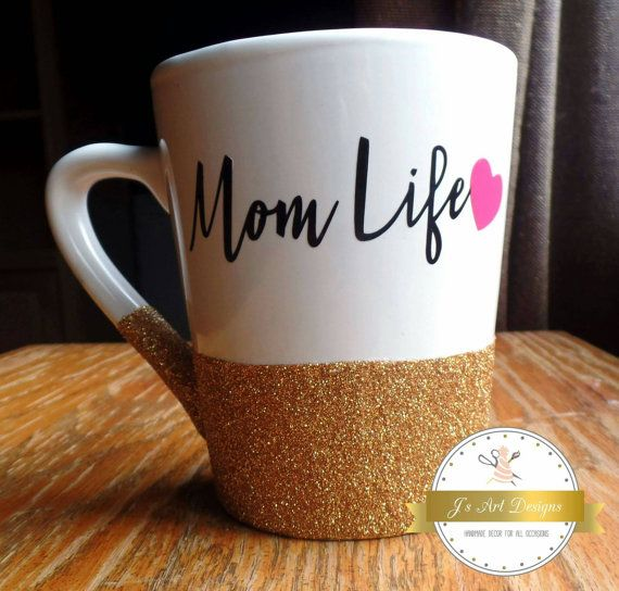 Hey, I found this really awesome Etsy listing at https://www.etsy.com/listing/270491791/mom-life-mom-life-mug-mom-life-glitter mom life, mothers day gift