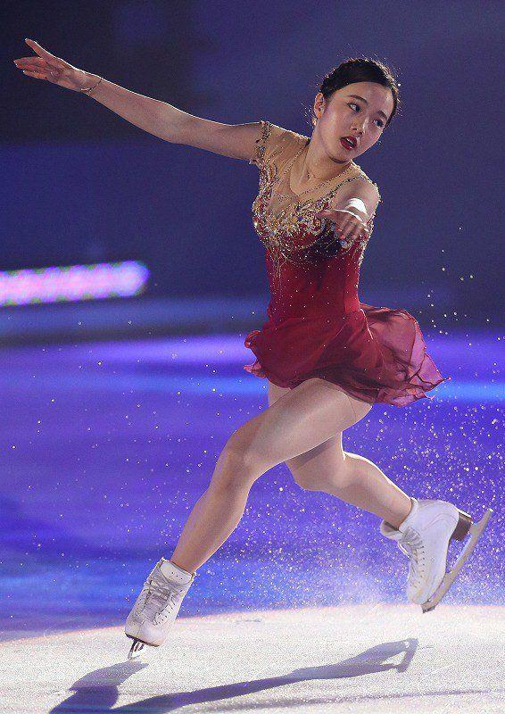 プリンスアイスワールド2017東京公演。本田真凜がパティシエ姿でジャンプ&スピンを披露   フィギュアスケートまとめ零