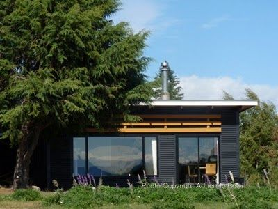 Dark Corrugated Iron With Lighter Contrast Timber Roof House Ideas Pinter