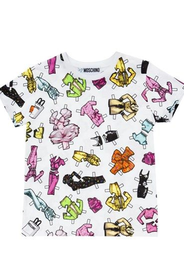 MOSCHINO - T-shirt#alducadaosta #newarrivals #moschino #runway #capsule #collection #think #pink #style #fashion #cool #love #girl #women #apparel #accessories