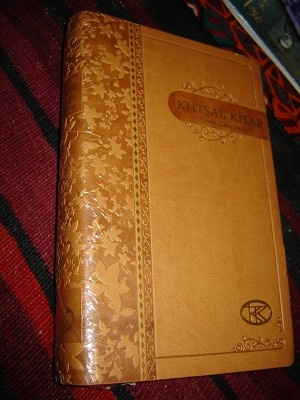 Turkish Bible / Goldish Brown Cover / Kutsal Kitap