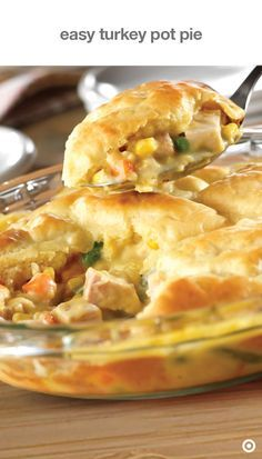 Your leftovers have achieved liftoff with this easy turkey pot pie recipe.