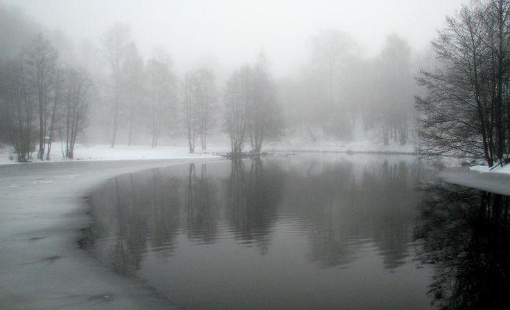 Winter Fog - City Photography, Photography of Oslo