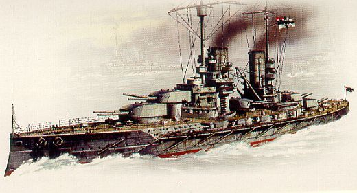 SMS Großer Kurfürst, launched 1913