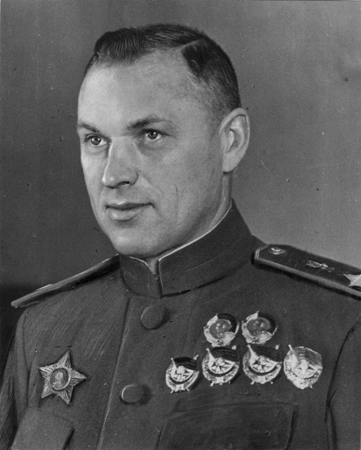 Marshal of the Soviet Union Konstantin Rokossovsky, official portrait, 1944.