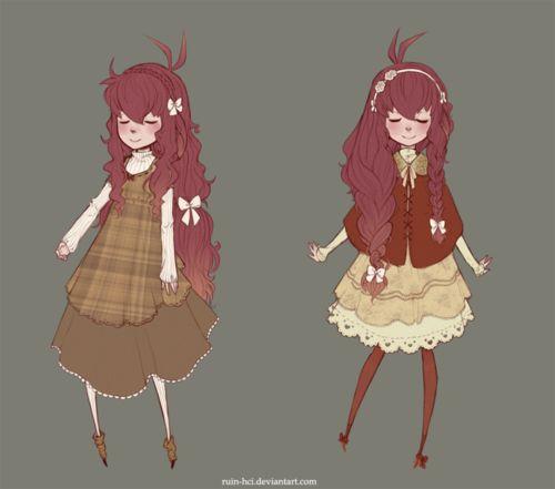 Drawing Of Fashion Girl