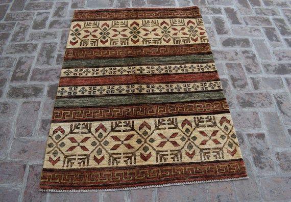 Size 4 11 X 3 6 Feet Beautiful Handmade Afghan Oriental Gabbeh Carpet Afghan Decorative Carpet Living Room Carpet Wholesale Price Afghan Rugs Oriental Room Carpet