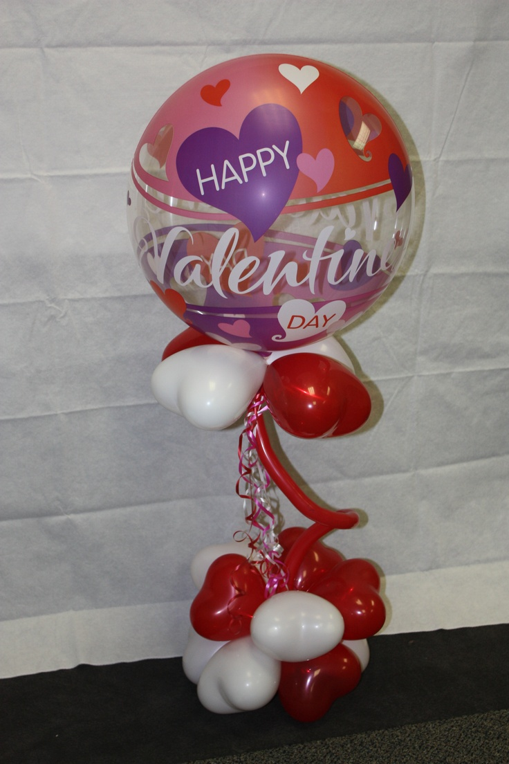 Nobbies Party Superstore VALENTINE'S DAY balloon bouquet 2012. $25.00  You could have it delivered by a PINK GORILLA!  #nobbiesparties.com  #valentinesday