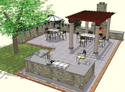 58 best outdoor kitchen images on pinterest | backyard ideas