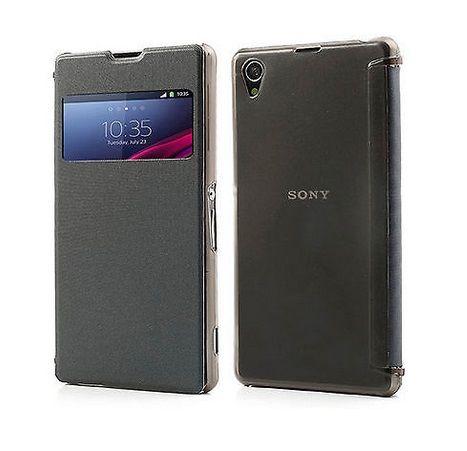Quick View Flip Case Μαύρο - (Sony Xperia Z1) BULK - myThiki.gr - Θήκες Κινητών-Αξεσουάρ για Smartphones και Tablets - Χρώμα Μαύρο