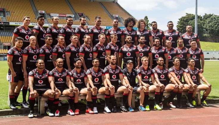 New Zealand Warriors Team Photo 2016
