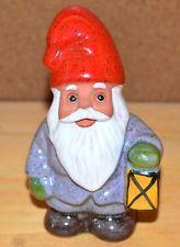 ROLF BERG Torshalla Sweden Swedish Folk Art Pottery Gnome Elf Santa Figurine