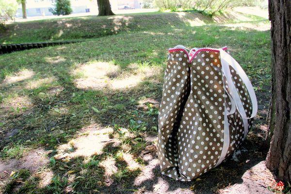 DIY Anleitung Picknickdecke und Tasche in einem ♥ DIY picnic blanket and bag