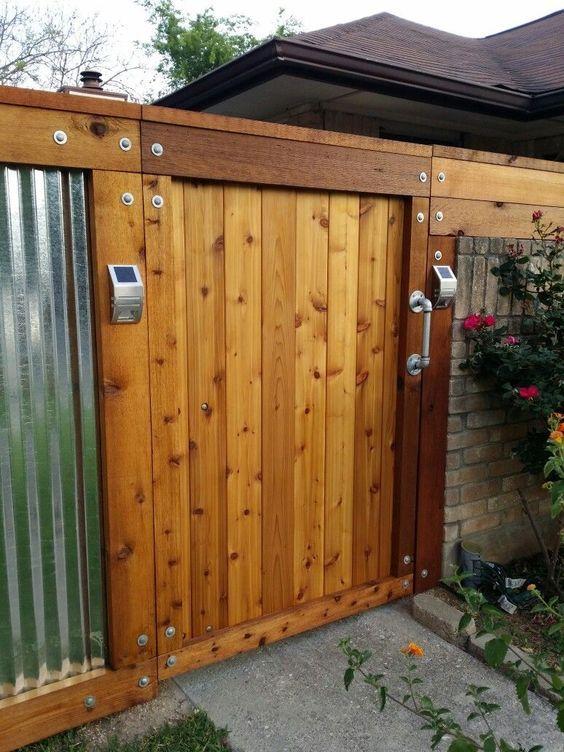 Metal Fence Ideas: 25+ Inspiring Ideas for Your DIY Home ...