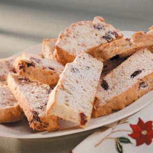 ... for the coffee lover ...cherry almond biscotti (not too sweet either