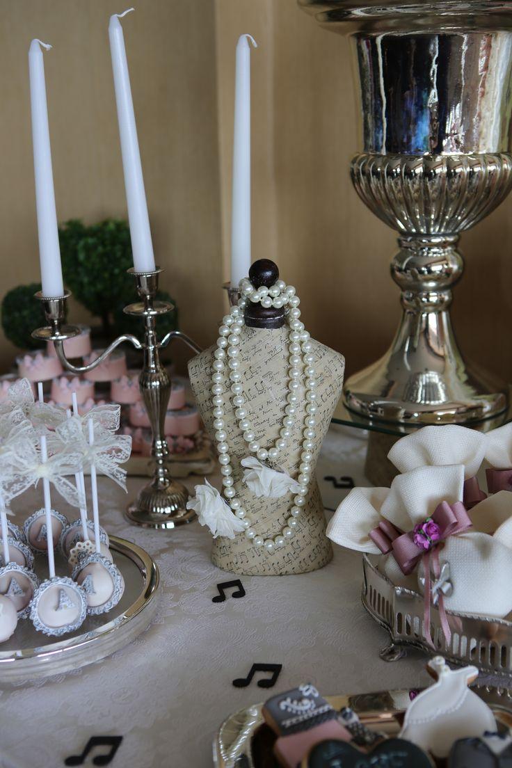 nişan ve düğünlerinizde şeker masaları için designbyceline
