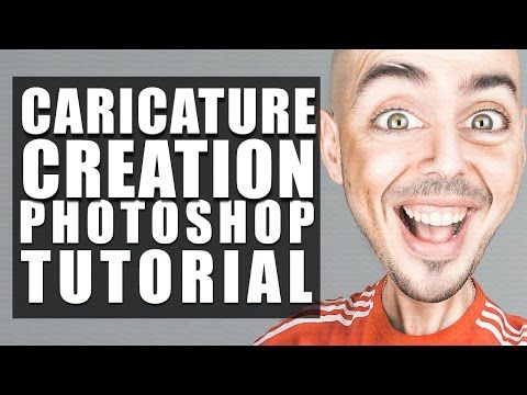 How to Create a Caricature From a Photo – Photoshop Tutorial by Evan – cgvilla