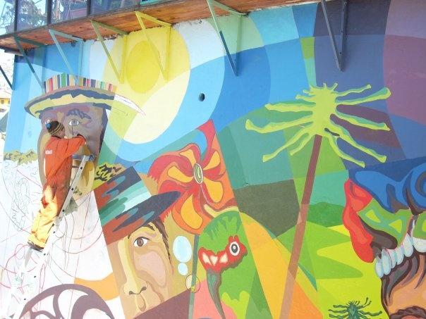 Mural, Cerro Alegre