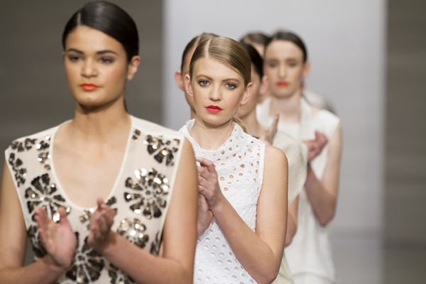 taylor 'Incision' collection at NZFW