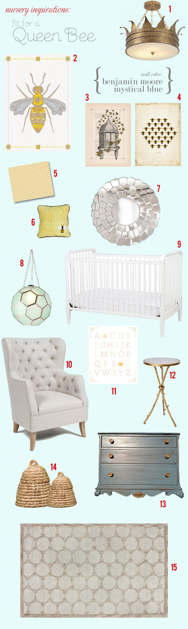 My future kid's nursery must be bee themed, obvi