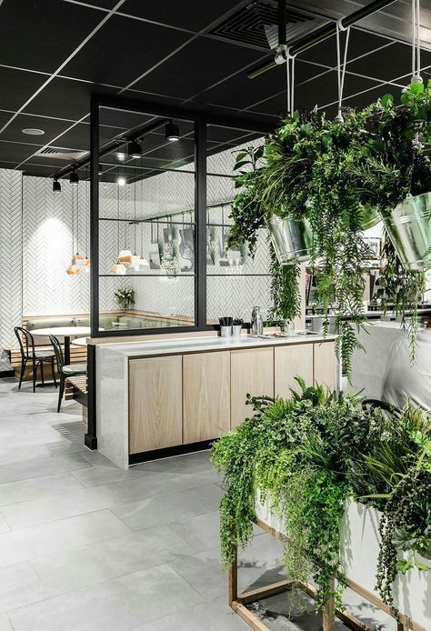 40 Relaxing Green Office Decor Ideas Space Office Interior