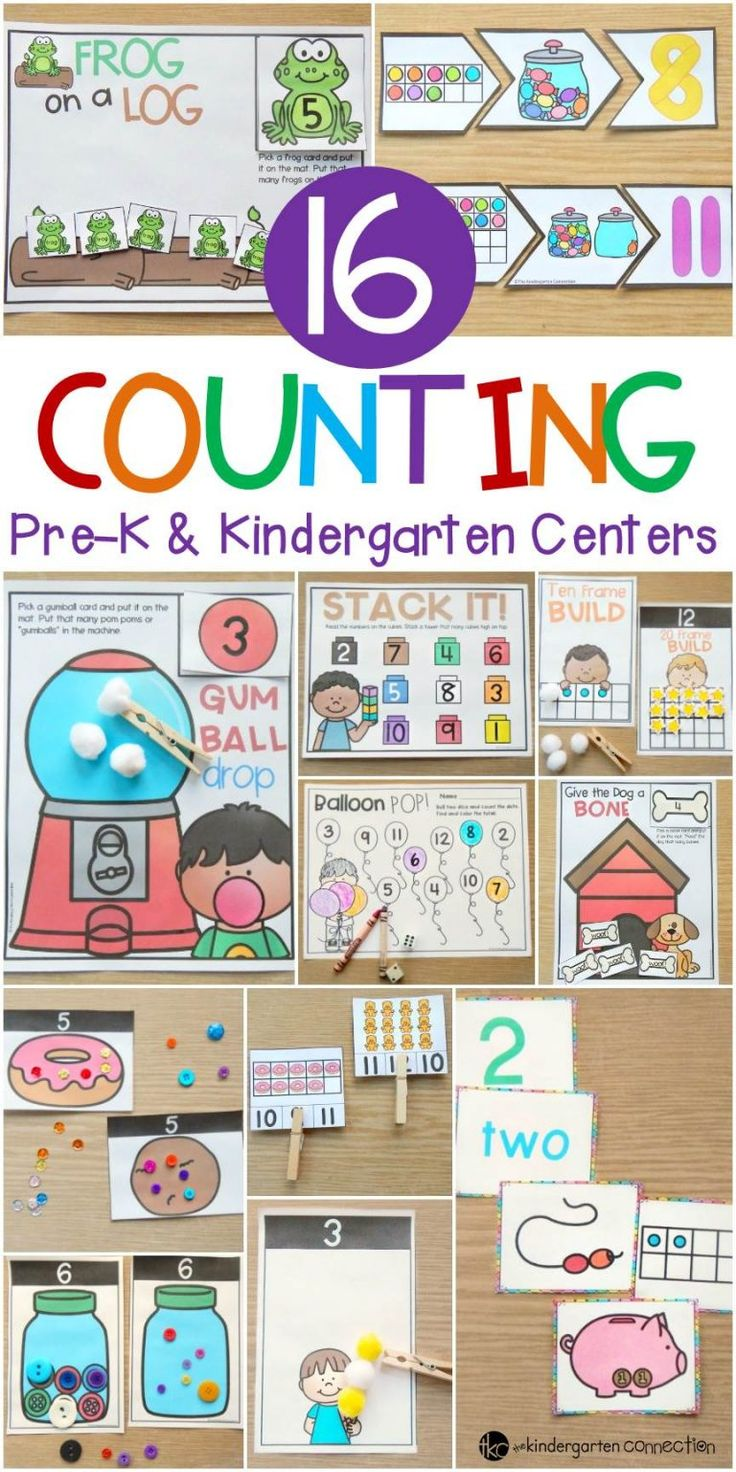 Hands-On Counting Activities and Centers