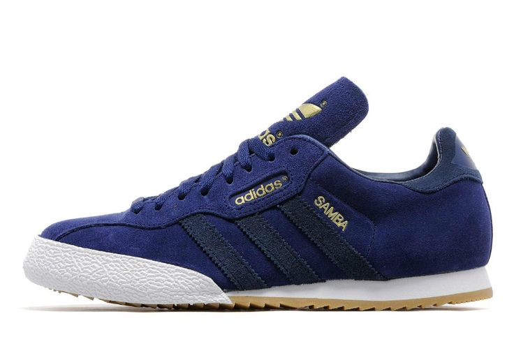 Adidas Samba Super - Blue / White