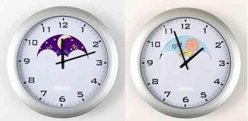 Day/Night Clock