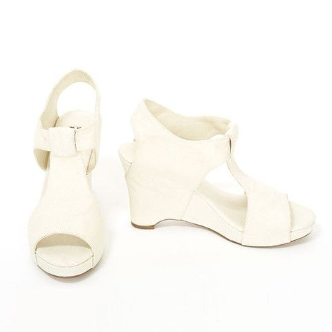 Slow and Steady Wins the Race | Mary Ping | Wedge Sandal in Natural