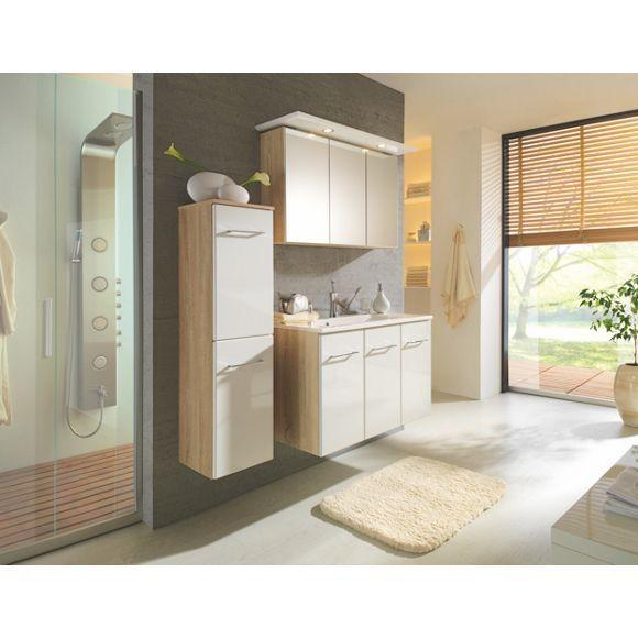 Badezimmer von XORA: Spiegelschrank und Waschbeckenunterschrank im Set!