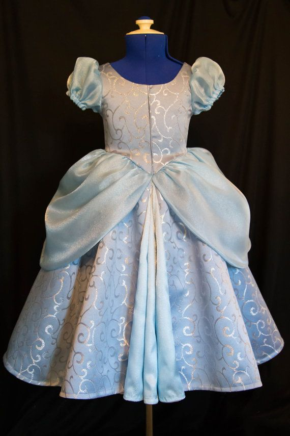 Cinderella GOWN Costume DELUXE CHILD Version Limited by mom2rtk