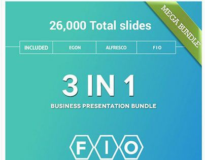 """Check out new work on my @Behance portfolio: """"3 in 1 Mega Bundle PowerPoint"""" http://on.be.net/1JlmuDA"""
