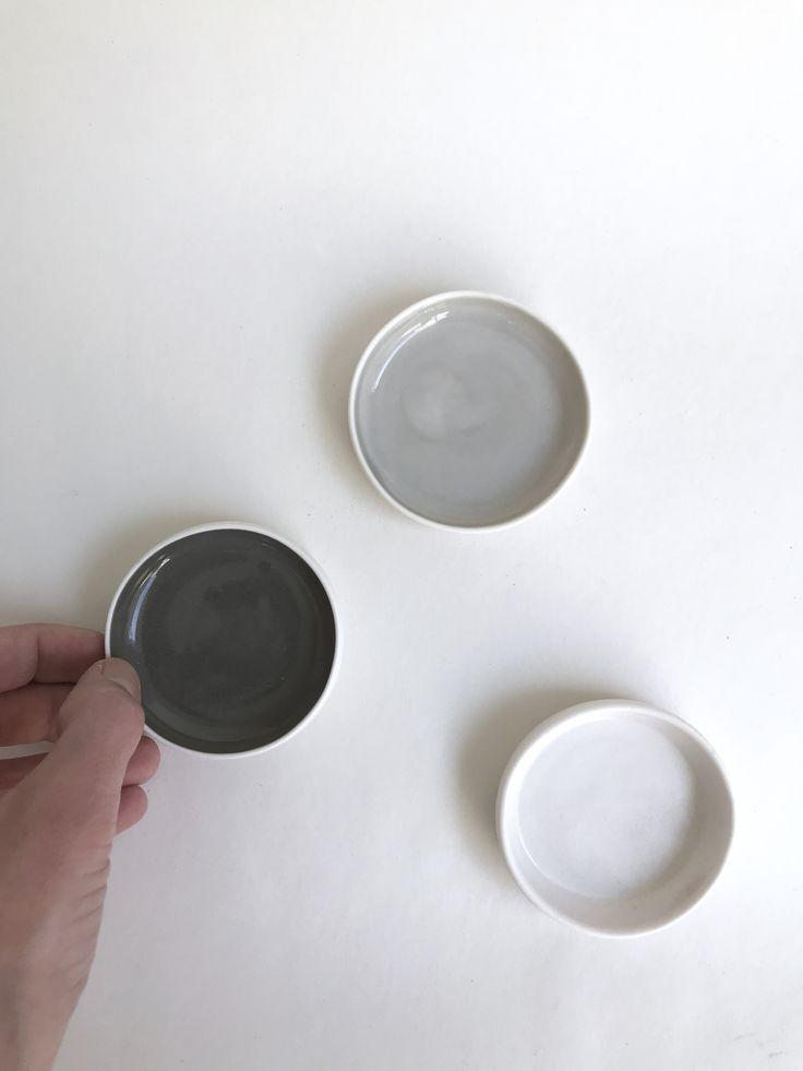 Porcelain mini bowls by spiek ceramiczny