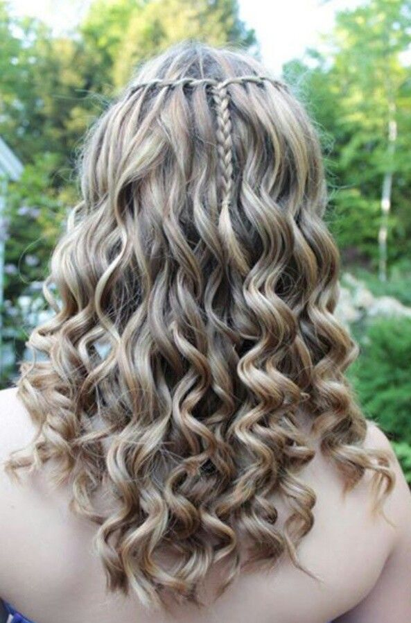 Hairstyles For Eighth Grade Dance : Best images about hair styles on braid