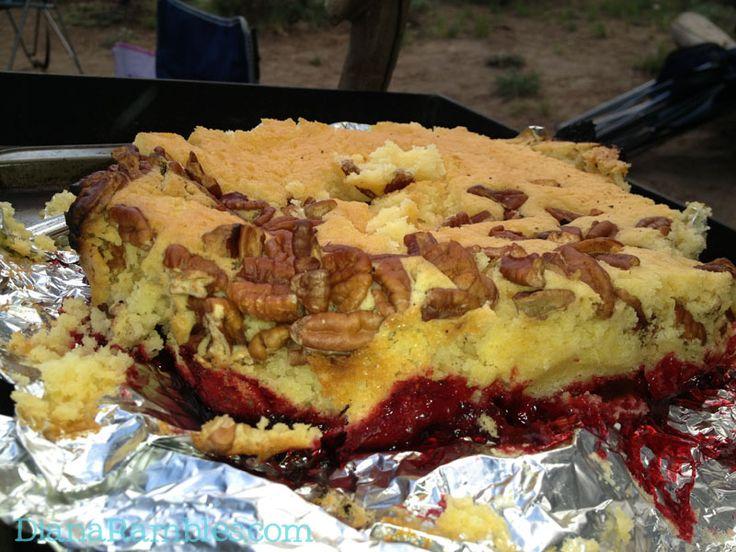 Campfire Dump Cake Dutch Oven
