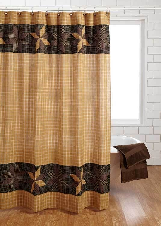 44 Best Primitive Amp Country Inspired Shower Curtains