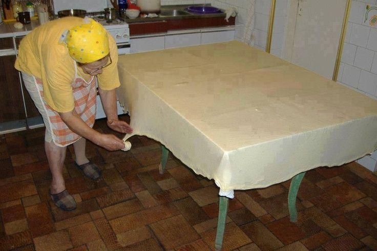 Igazi rétes tészta készítése